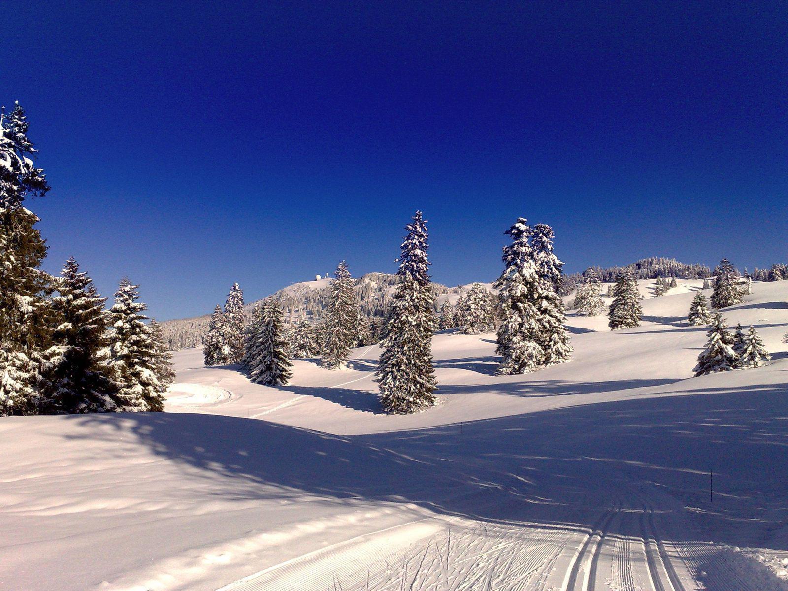 Domaine skiable MONTS JURA/LA VATTAY_Gex