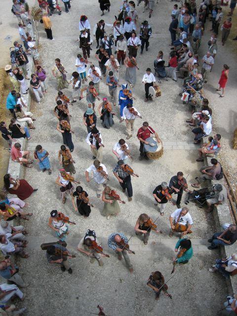 Image : Festival de Sarrant Violons Nomades