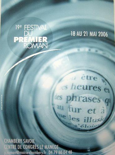 Festival du 1er roman_Chambéry