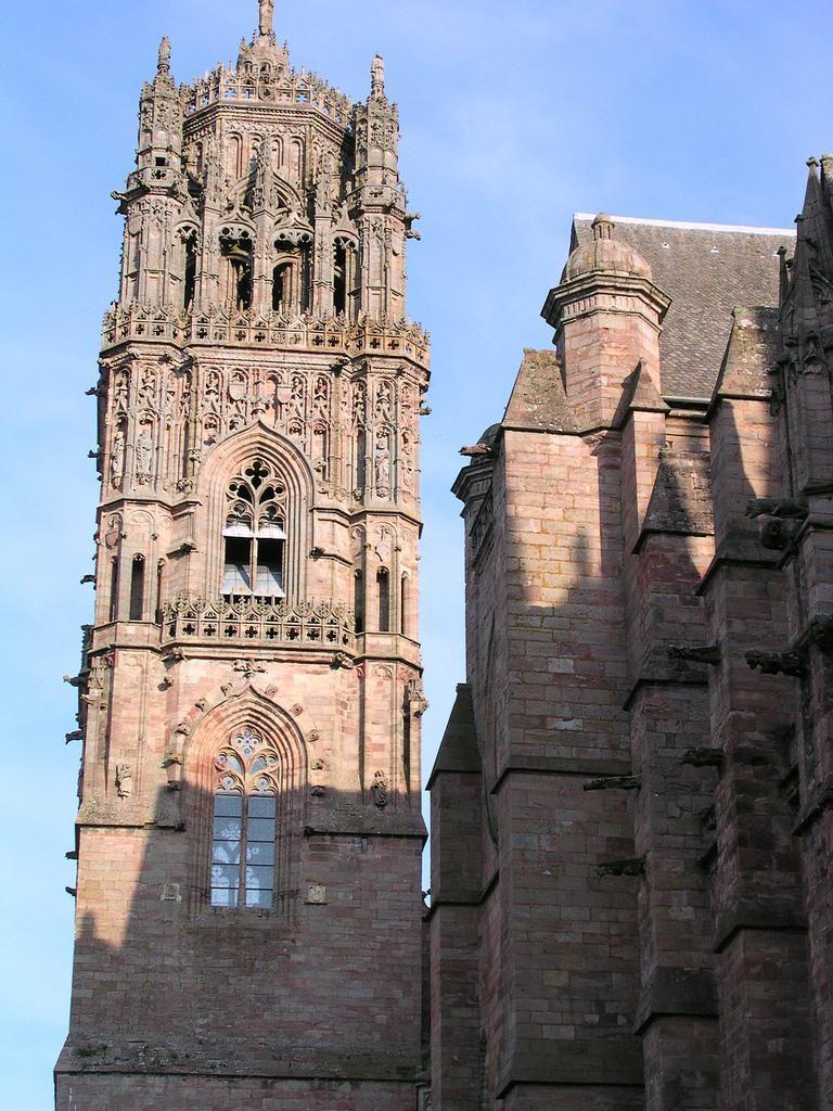 Clocher - Cathédrale Notre Dame_Rodez