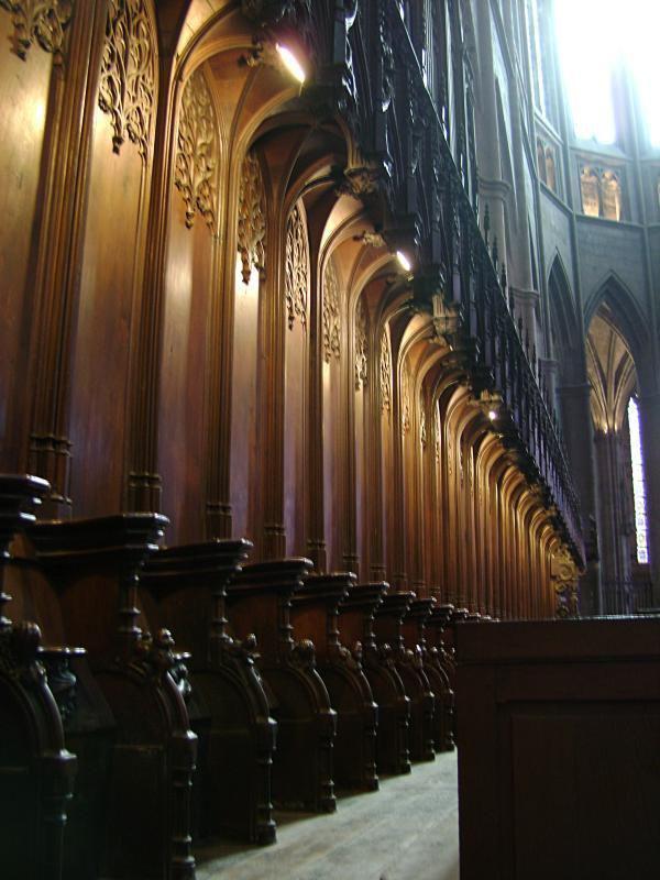 Stalles - Cathédrale Notre Dame_Rodez