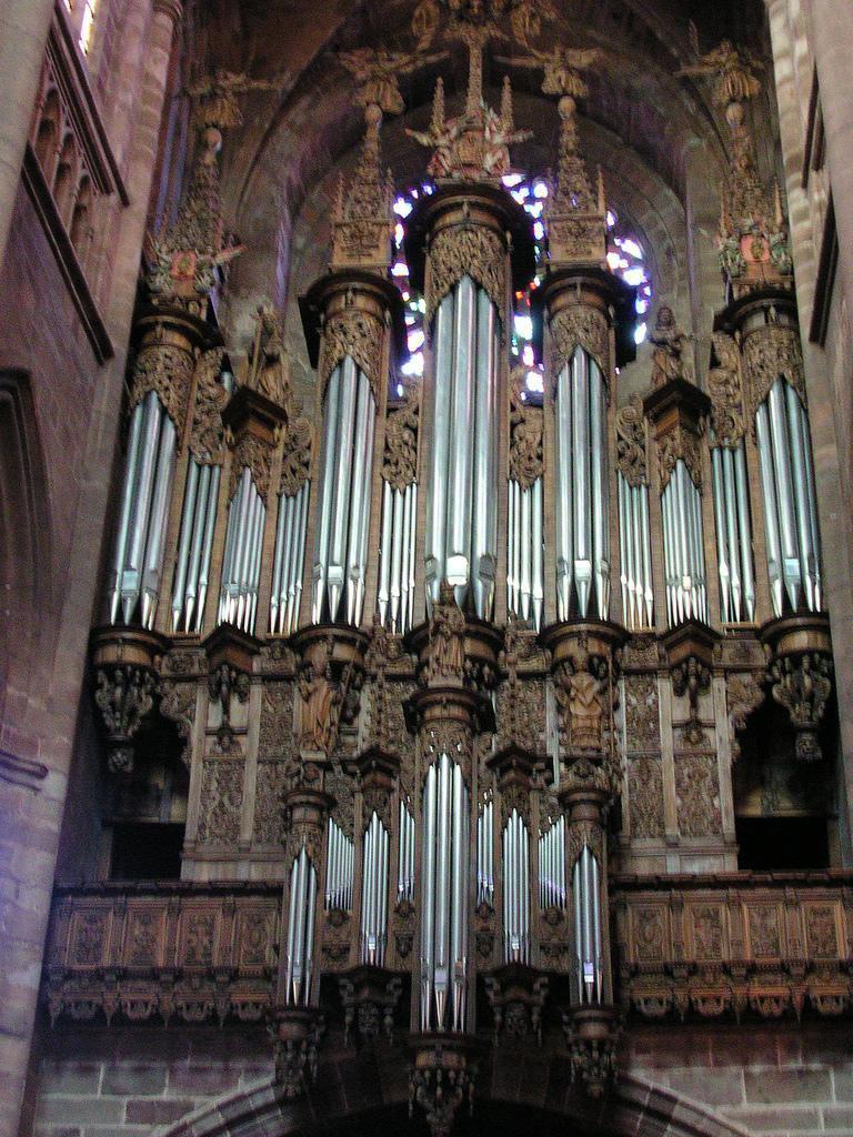 Buffet d'Orgue - Cathédrale Notre Dame_Rodez