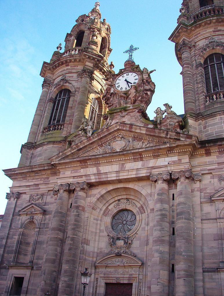 Façade de l'église Saint-Jacques_Lunéville