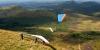 Parapentes sur le Puy de Dôme