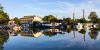 Péniches sur le Canal latéral à la Garonne