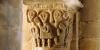La petite église romane de Biollet (Combrailles) abrite des chapiteaux étonnants