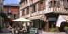 Centre de Bagnères-de-Bigorre, maison de colombages