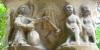 Chapiteau Adam et Eve du cloître Saint-Sever au Jardin Massey de Tarbes
