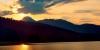 Coucher de soleil au Lac de Payolle
