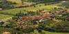 Vue aérienne de Madiran