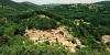 Le village de Bramevaque vu du château