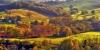 Campagne basque en automne