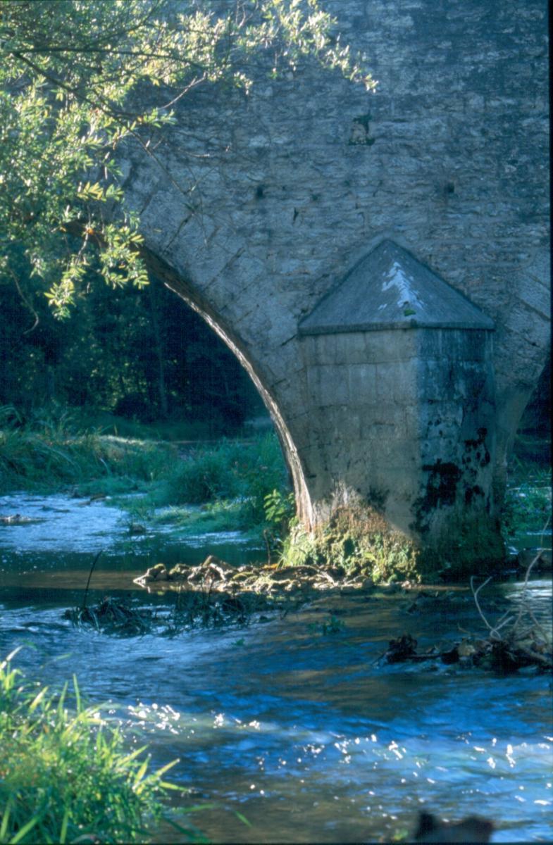 pont romain de Loches sur Ource
