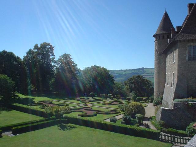jardin et chateau