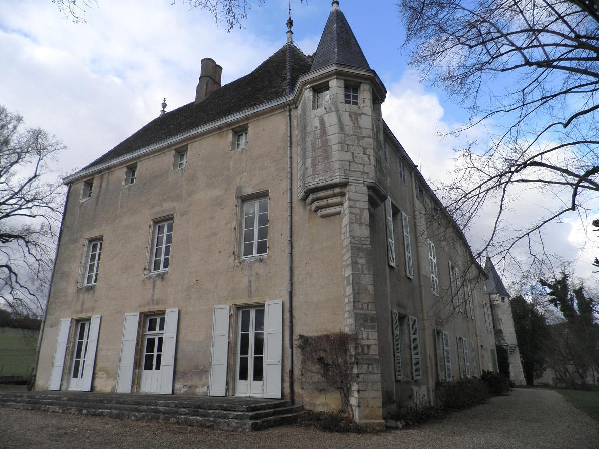 Vue sud-est du château