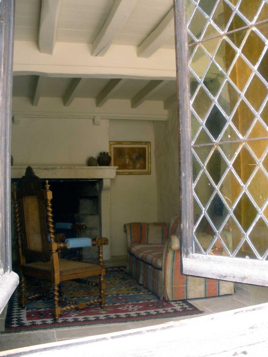 vue sur le salon de l'Ermitage
