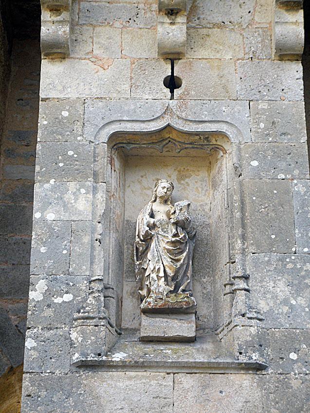 Vierge de la Porte du Bourg