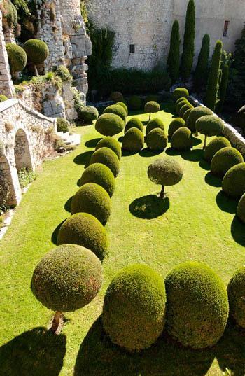 Château de Gourdon, Jardin Italien