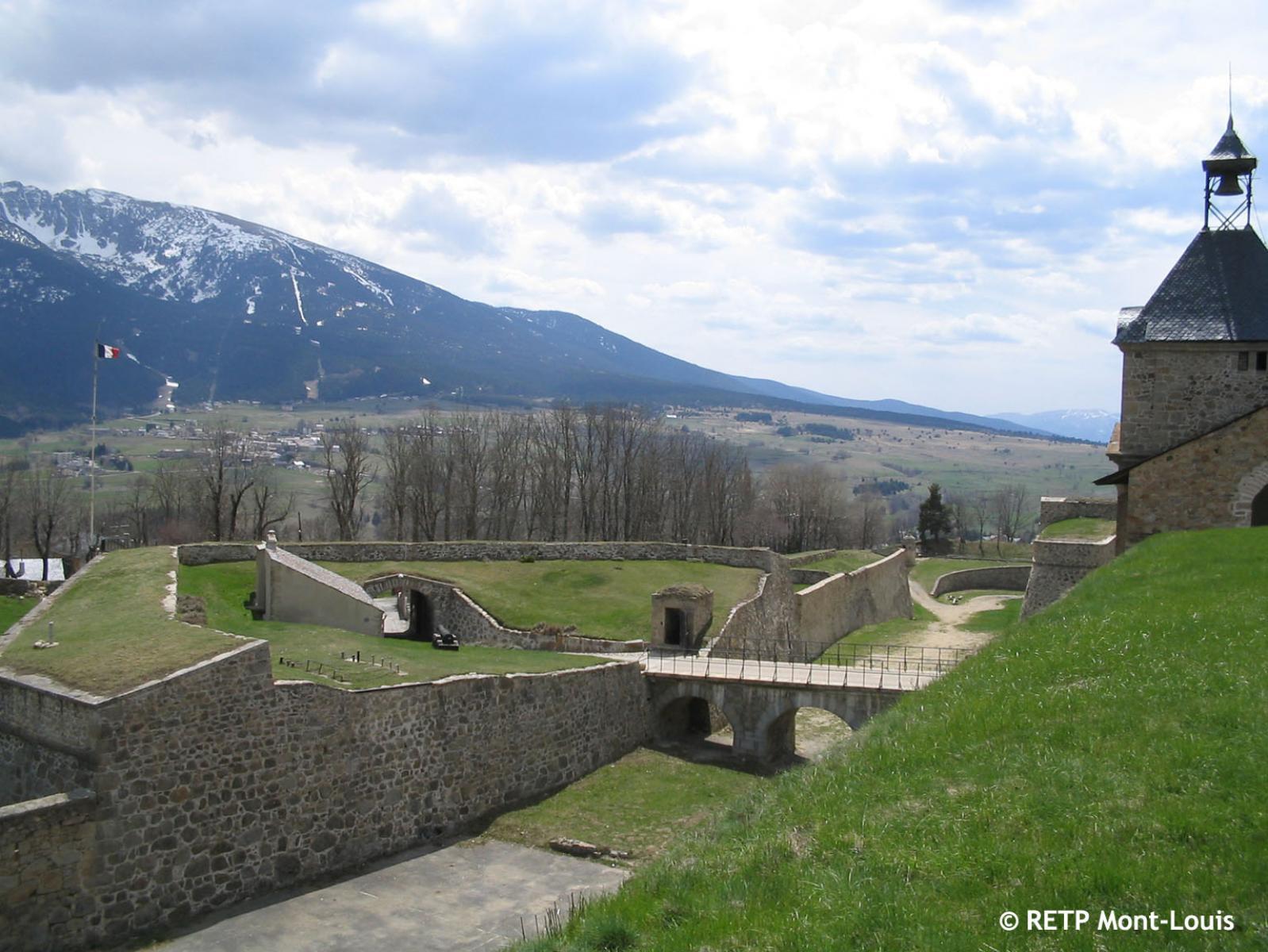 Mont-Louis - Entrée citadelle