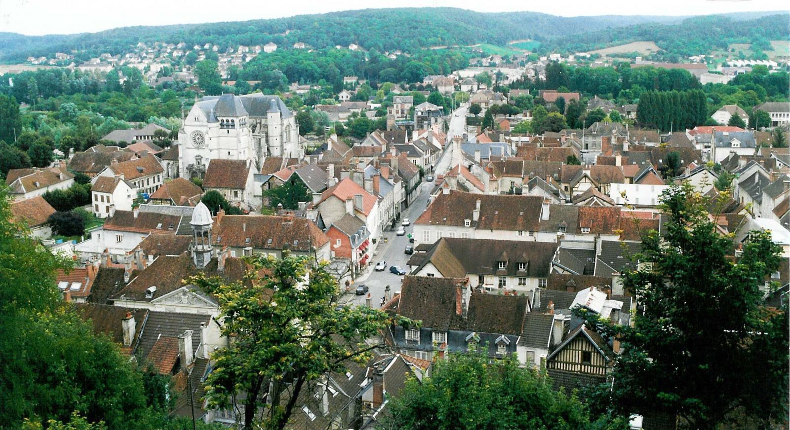 vue de Bar-sur-Seine