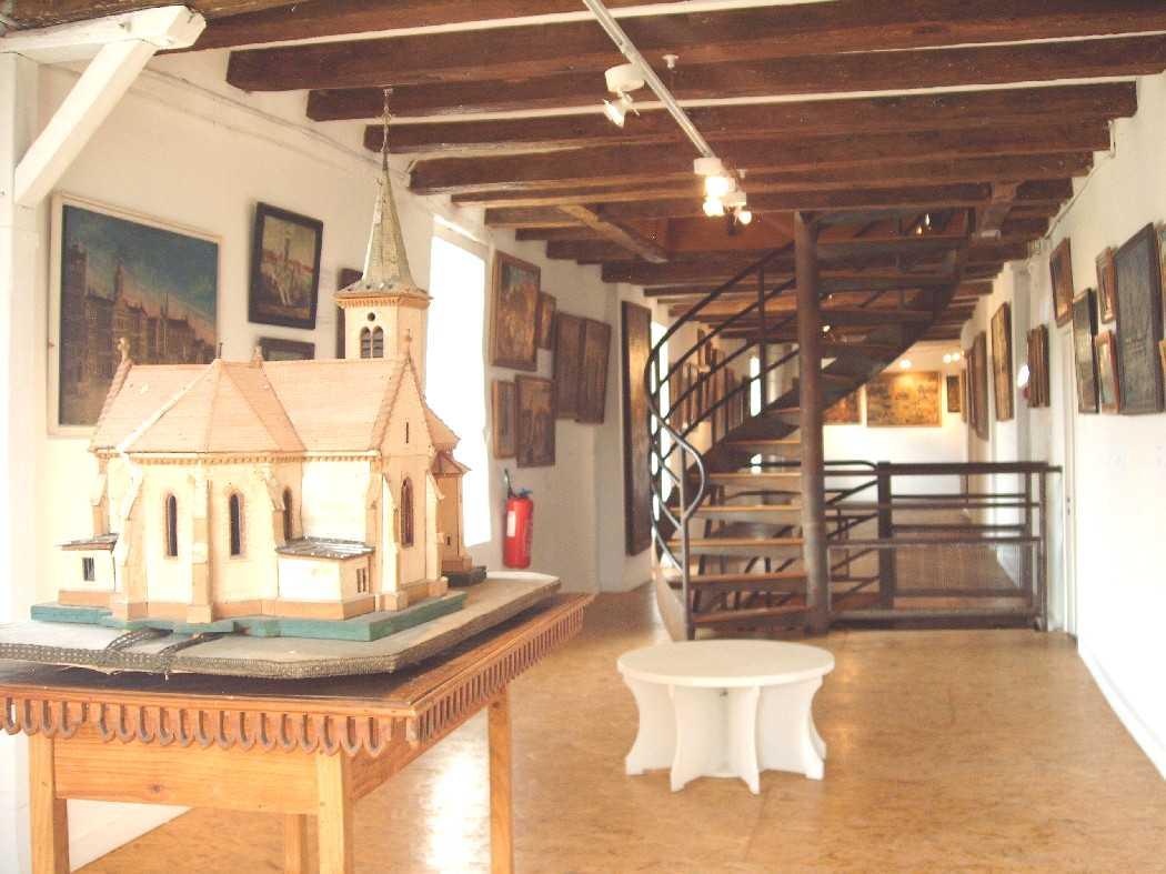 1er étage du Musée collection yankel