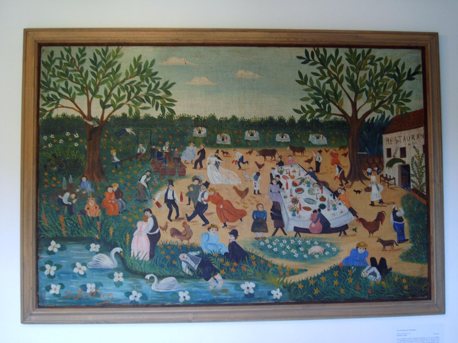 Musée de Noyers mariage à la campagne