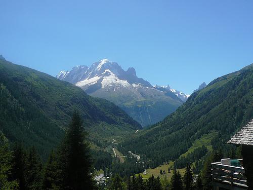 VALLORCINE: le col des Montets