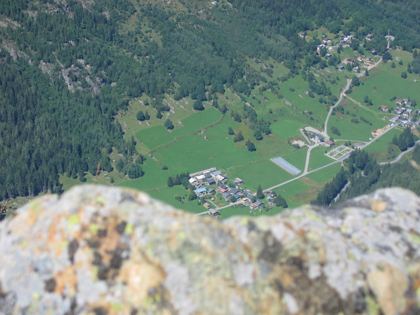VALLORCINE: Hameau du Sizeray & l'Eglise