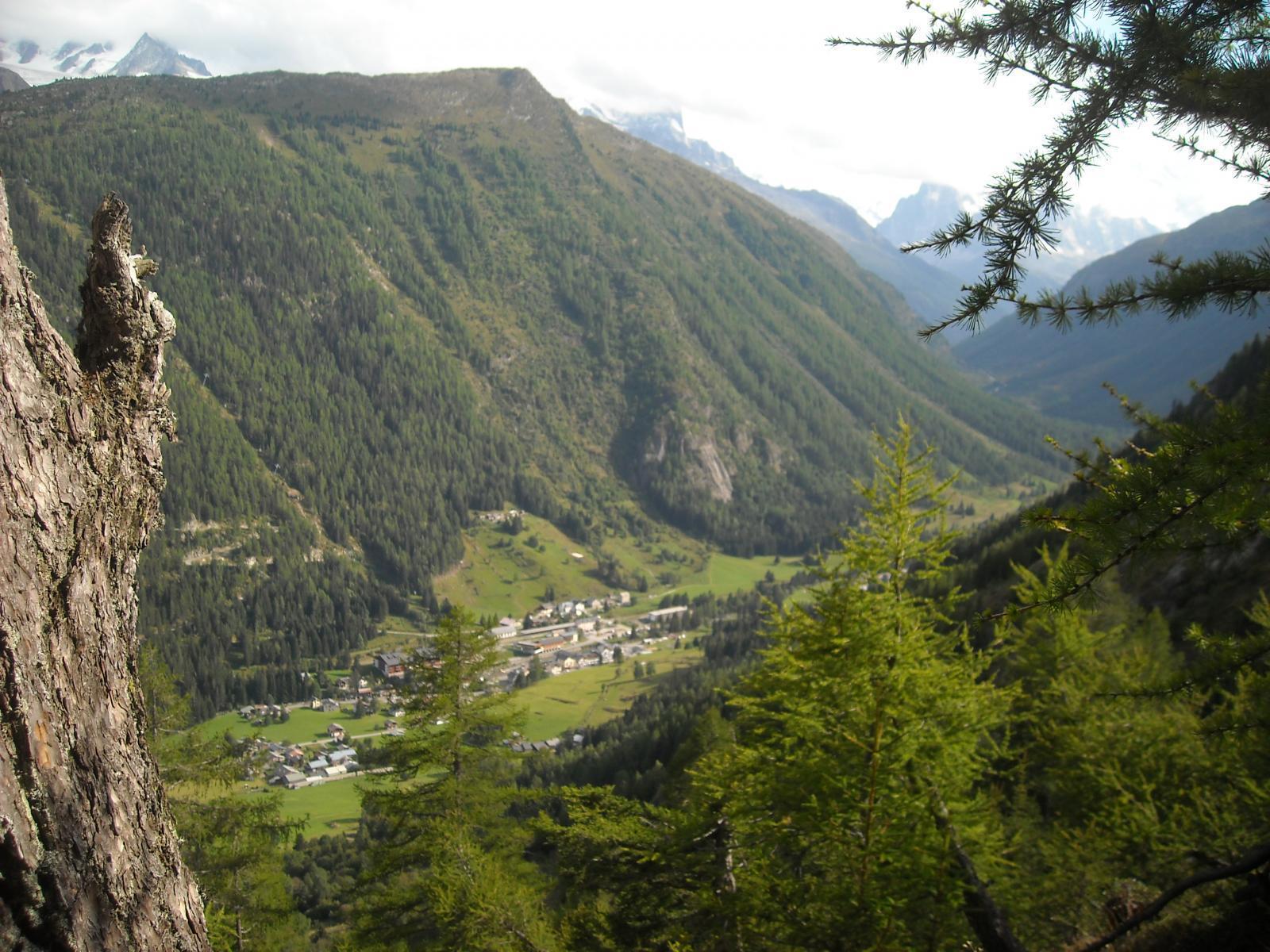 VALLORCINE: la vallée