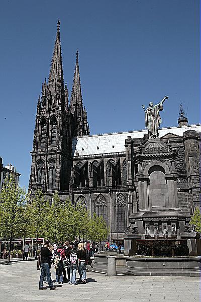 Cathédrale Notre-Dame de l'Assomption à Clermont-Ferrand
