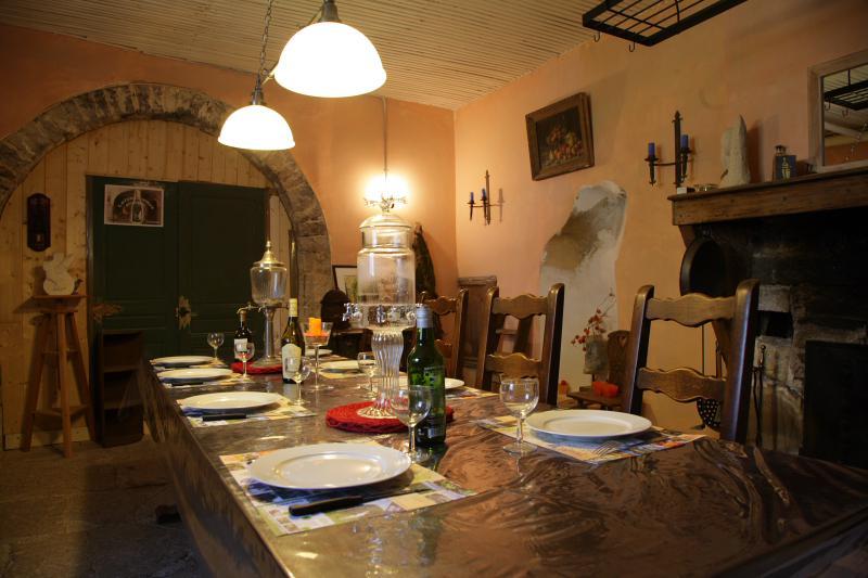 table sur réservation