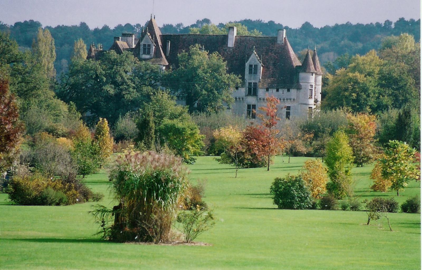 château et parc botanique Neuvic/l'Isle