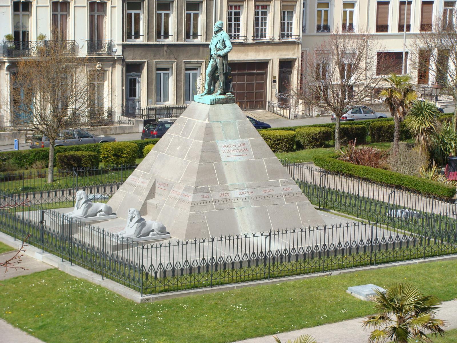 Le monument de Mariette