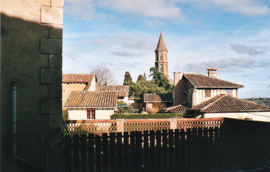Saint-Frajou vue du Musée