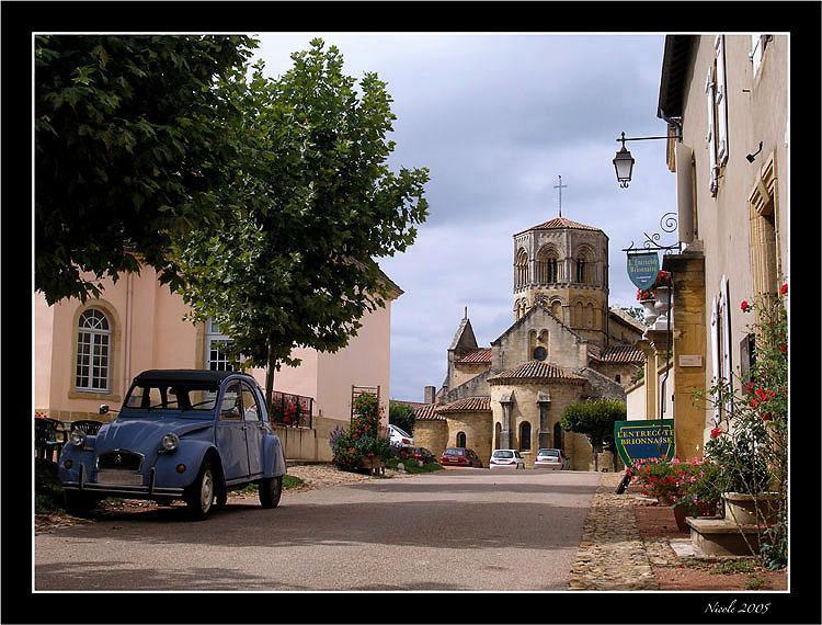 L'église de Semur-en-Brionnais
