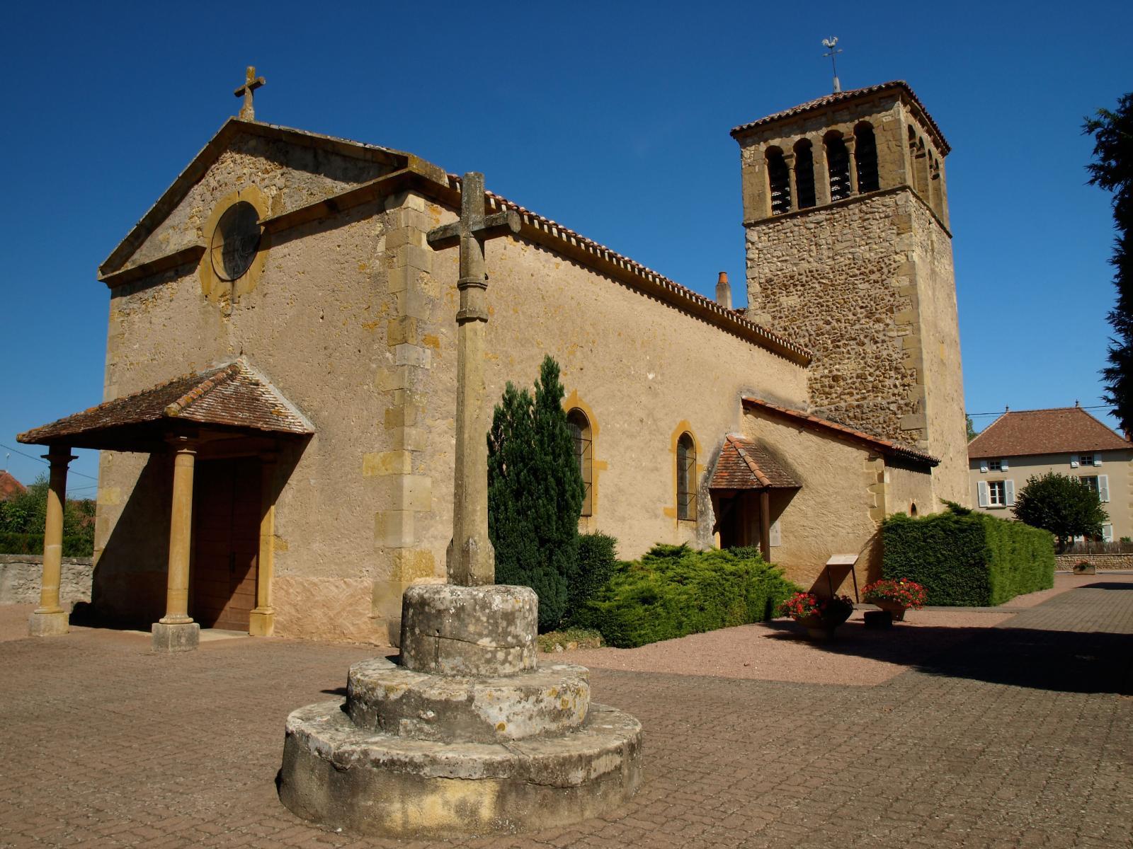 St Martin-du-Lac, près de Marcigny