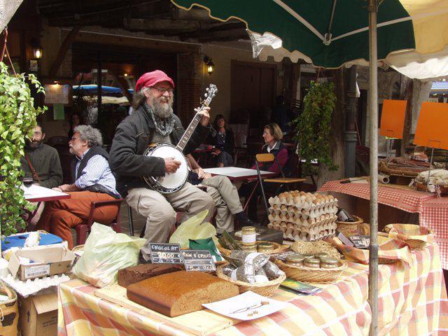 Le marché de Mirepoix