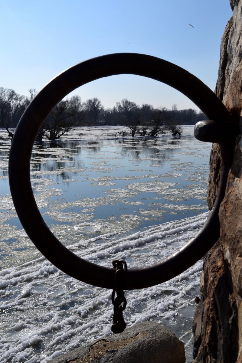 La Loire en glace