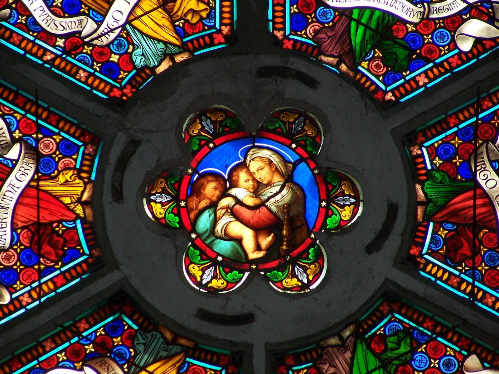 Eglise Notre-Dame - Vitrail
