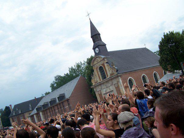 La chapelle au Main Square Festival d'Arras