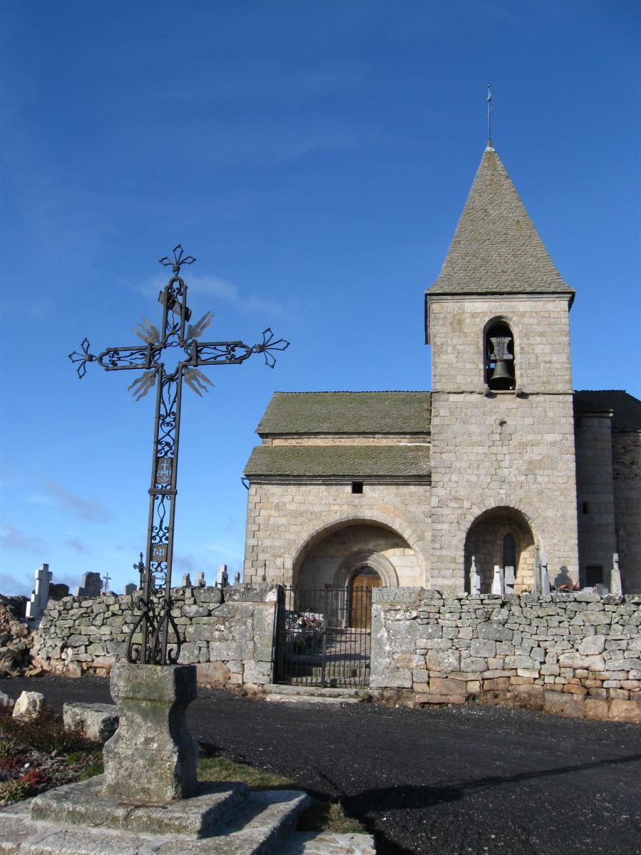 Eglise du village de Termes