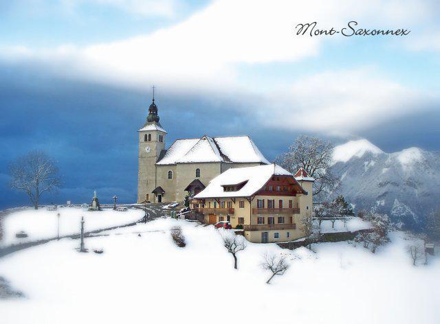 L'église de Mont-Saxonnex