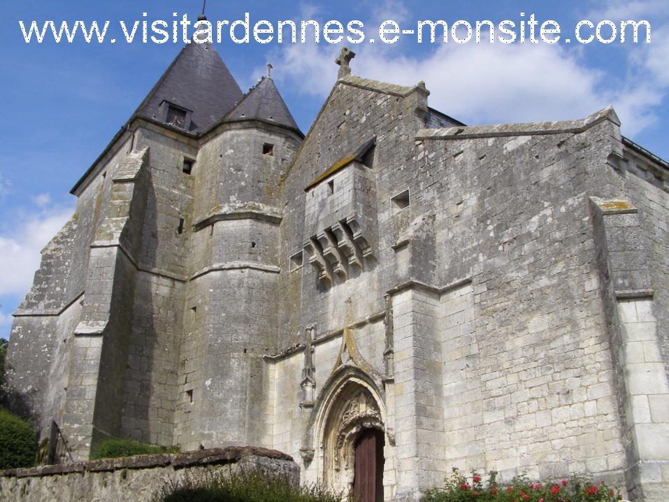 Eglise fortifiée d' Aouste