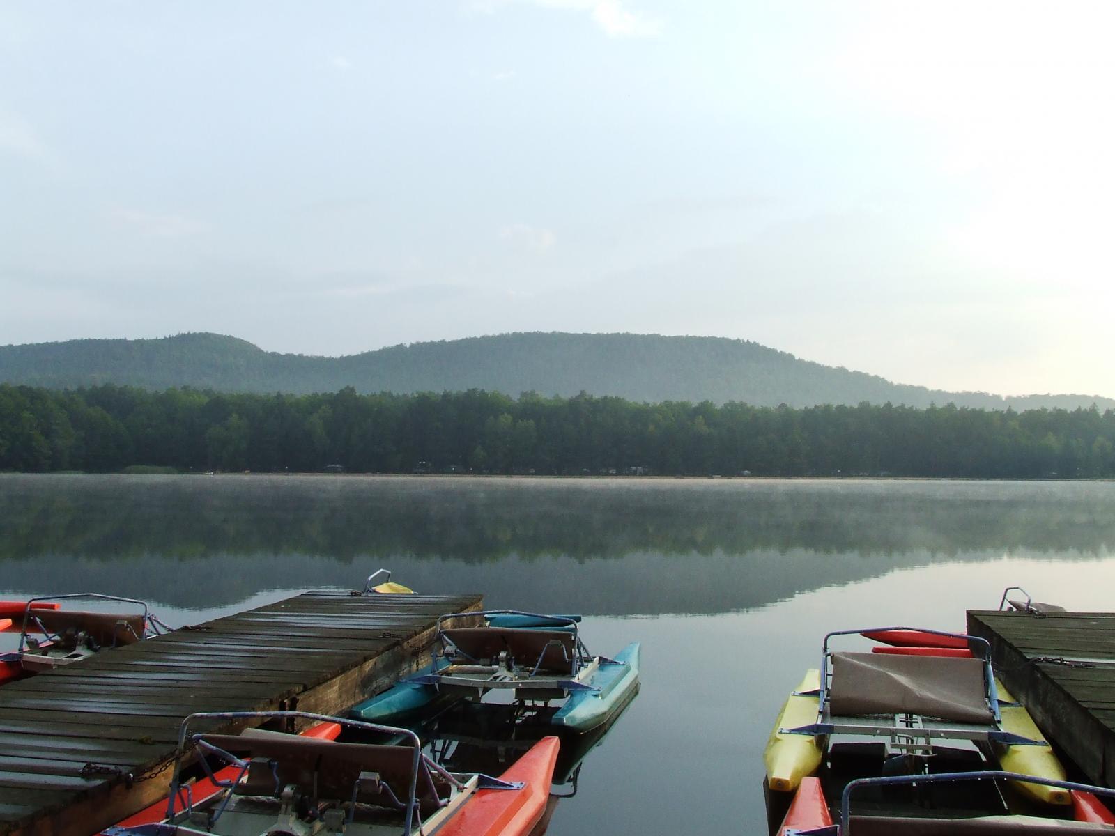 Le lac de Hanau