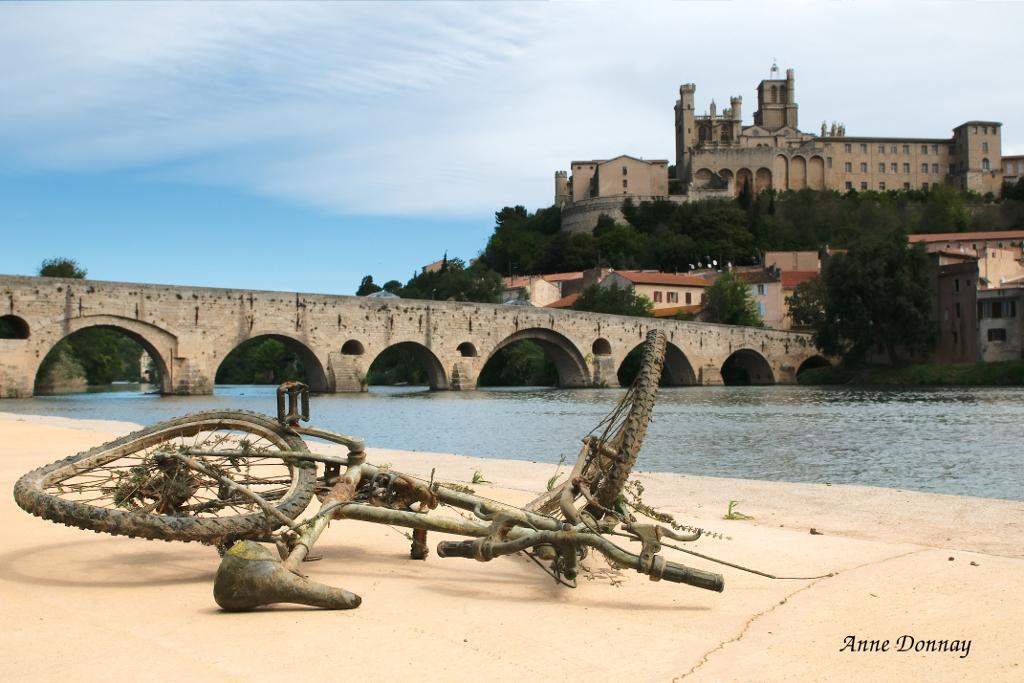 Béziers et le vieux pont