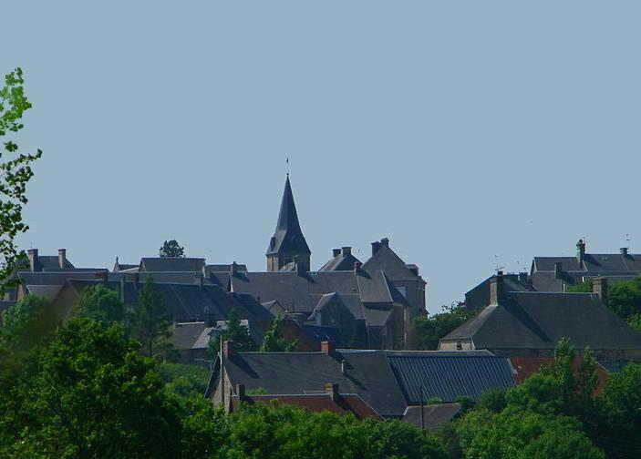 Bourg de Cerisy-la-Salle