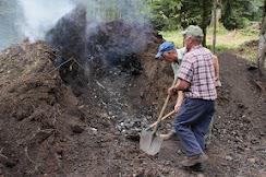 récupération du charbon