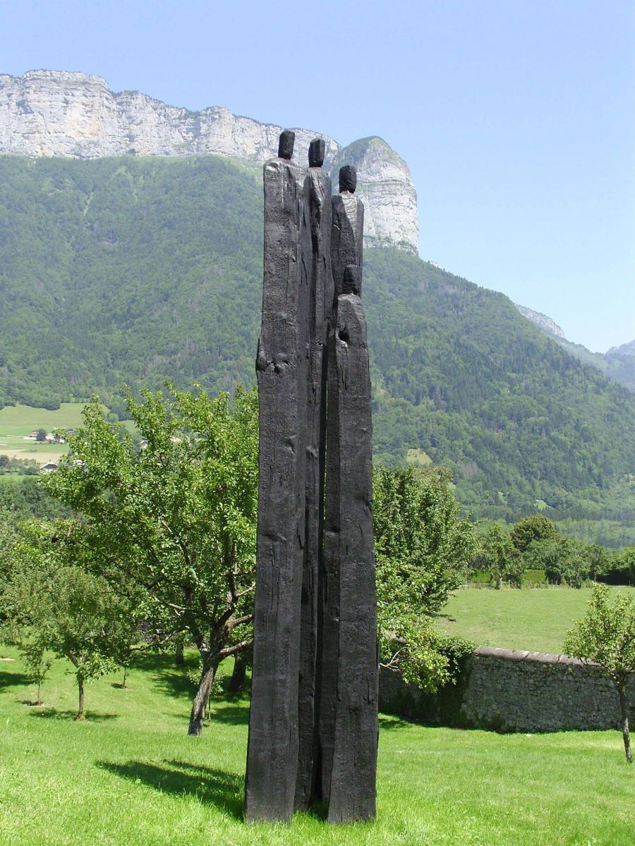 Parc de sculptures, oeuvre de Ch. Lapie