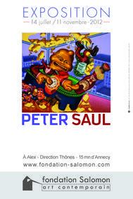 Exposition Peter Saul 2012