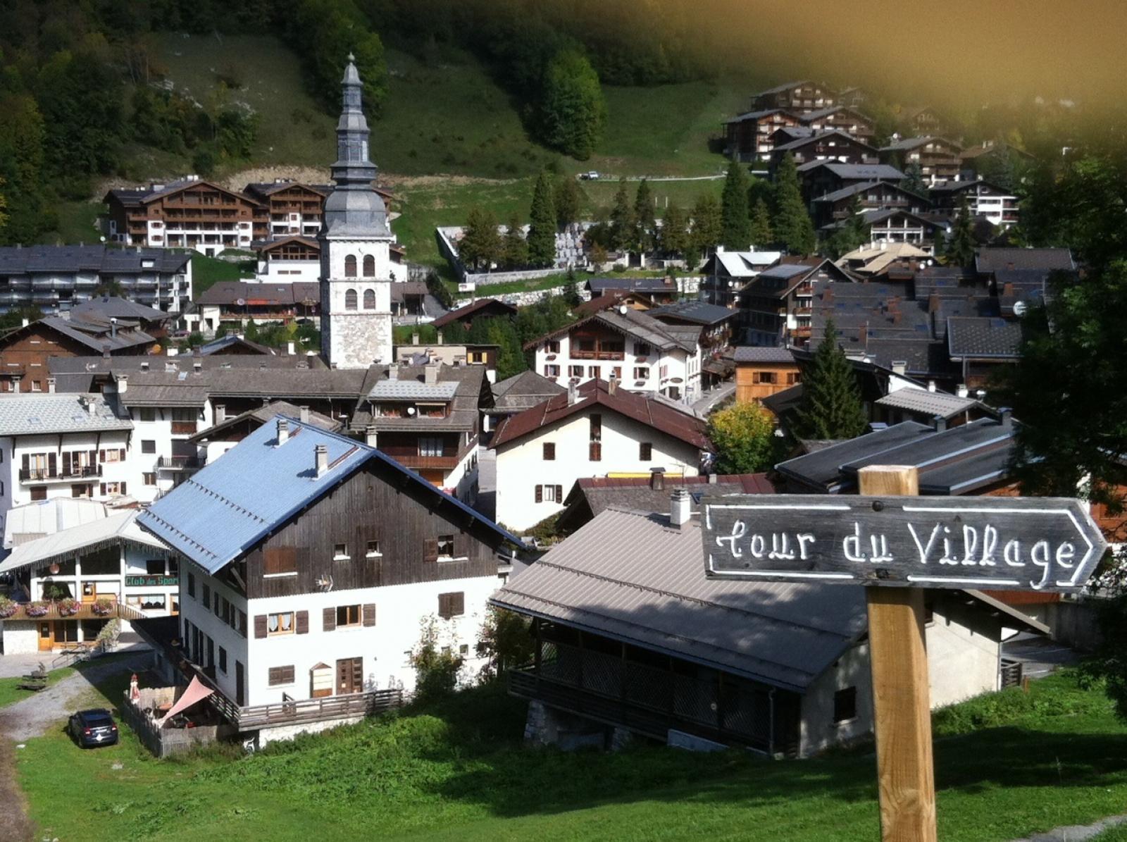 Le village de La CLusaz